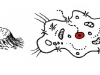 Jádro a obal (kapka, kráter, buňka, člověk)